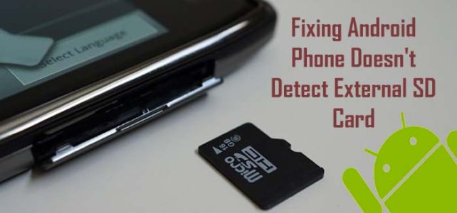 my phone won't read my sd card | Android Data Recovery Blog