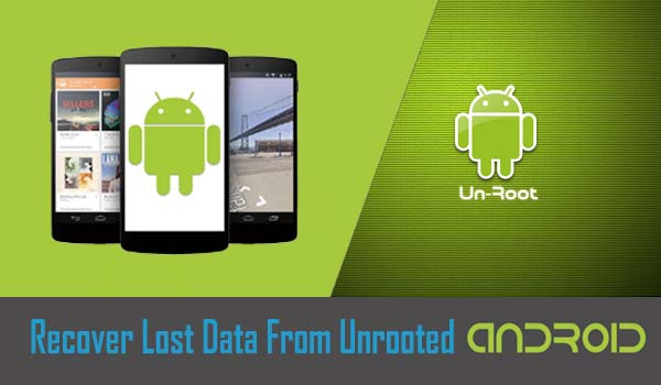 How to recover deleted photos on android phone without root