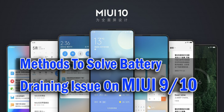 11 Effective Methods To Solve Battery Draining Issue On MIUI