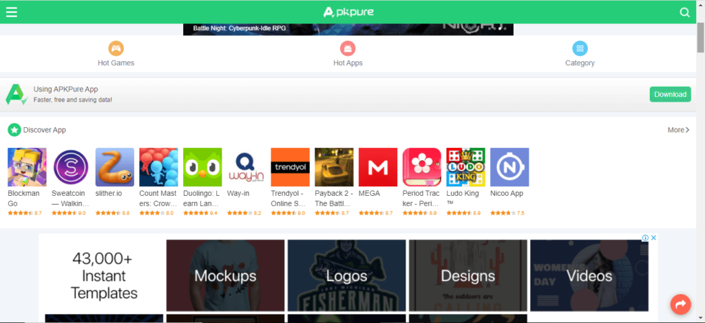 The best Android APK download site