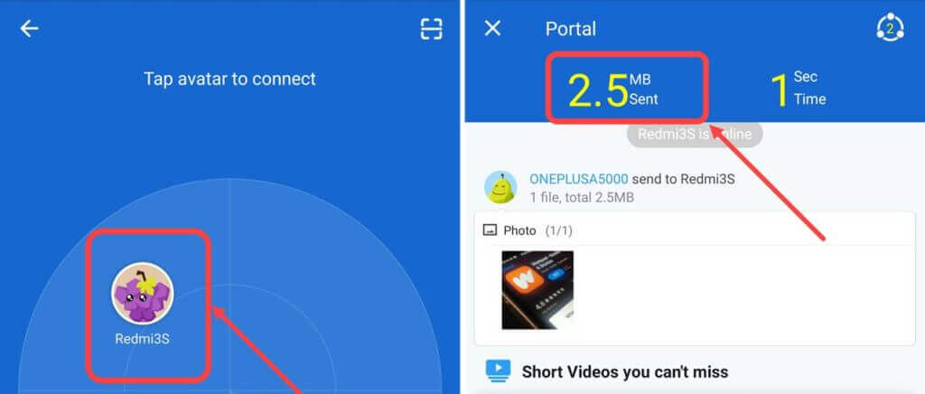 Use SHAREit To Transfer Android Apps