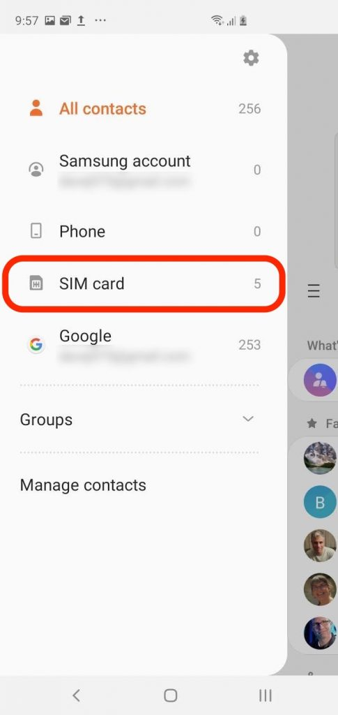 Transfer Contacts From Android To iPhone Using SIM Card 1