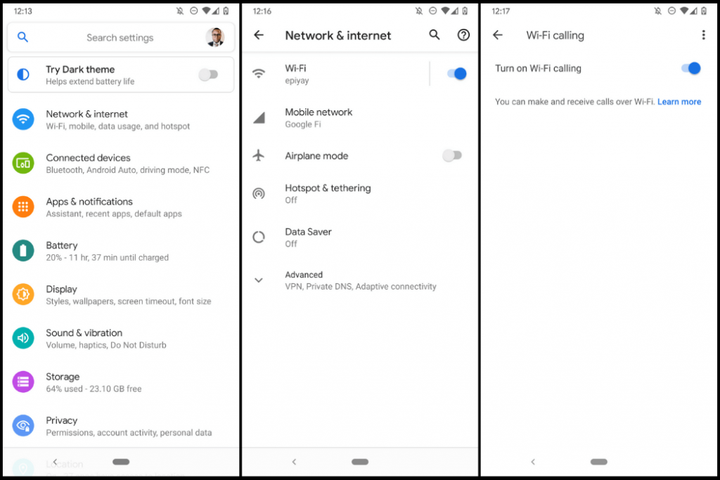 Check Wi-Fi Calling Is Enabled In Network Settings