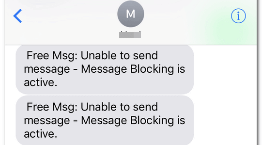What Does Message Blocking Active Error Mean