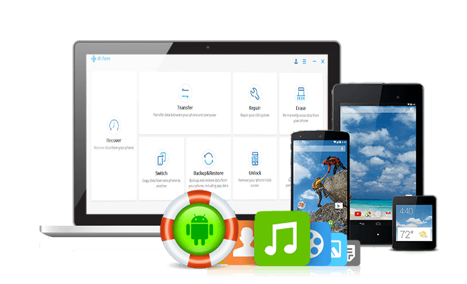 Android Phone Recovery - Recover Photos, Music Files, apps Data from
