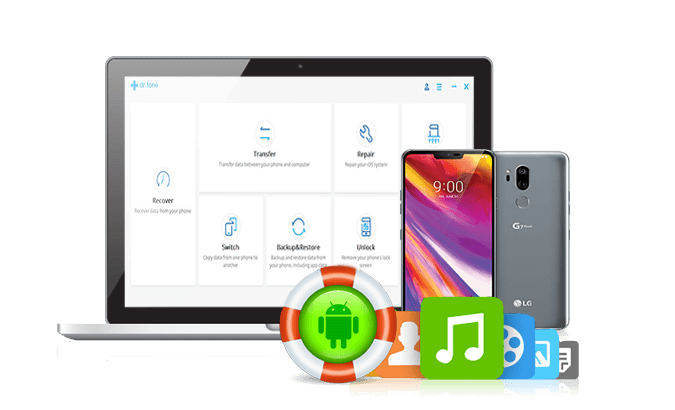 LG Android Phone Data Recovery - Recover Photos, Music Files